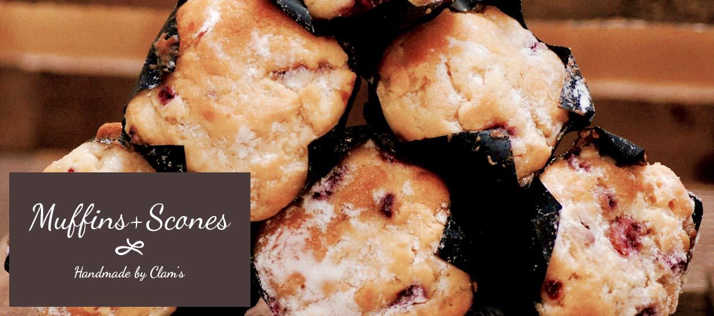 Handmade Muffins and scones